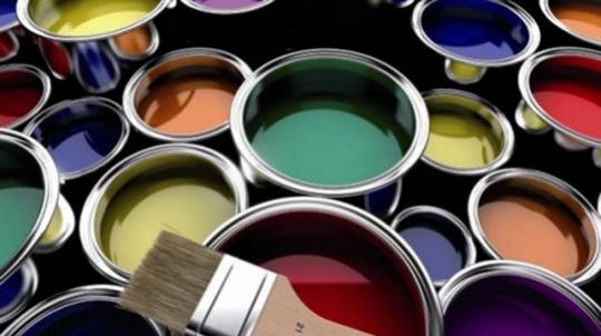Краска на основе растворителей